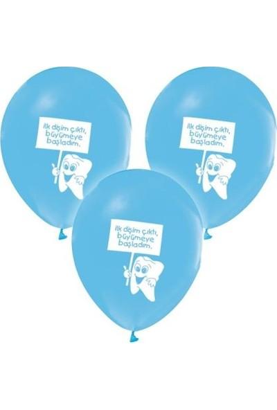 Balon Evi Diş Buğdayı Baskılı Balon 12 Inch 20'li