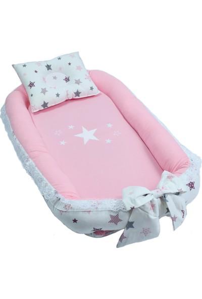 Babyroom Babynest Star Pink