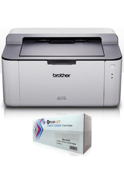 Brother HL-1211W Wi-Fi Laser Yazıcı + Tam Dolu Pluscopy Toner