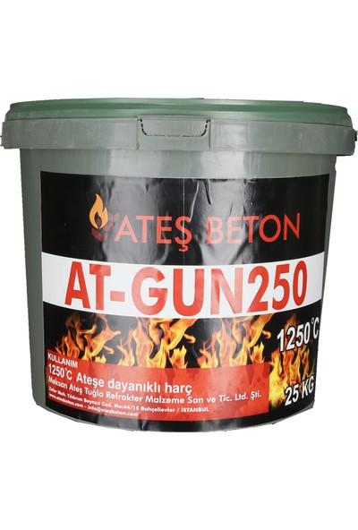 Ateş Beton Şamot Harcı 1250°C Ateş Tuğla Yapıştırma