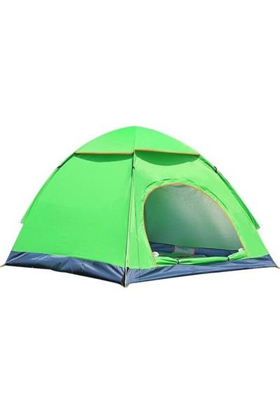 Xolo Otomatik Havaya Atınca Açılan Kamp Çadırı 3 Kişilik Çadır Tatil Plaj Deprem
