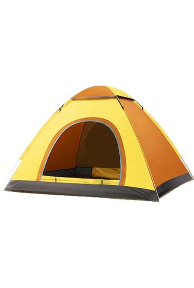 Xolo Otomatik Havaya Atınca Açılan Kamp Çadırı 5 Kişilik Çadır Tatil Plaj Deprem