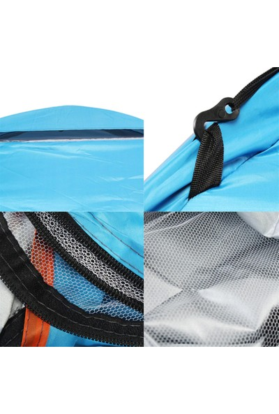 Xolo Kamp Çadırı 3 Kişilik Su Geçirmez Çadır Tatil Plaj Deprem