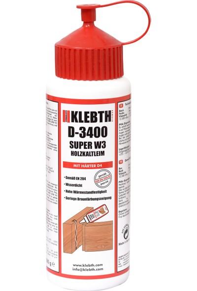 Klebth D-3400 Ahşap Tutkalı 500 gr
