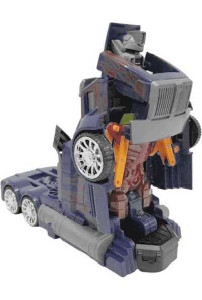 Can Oyuncak Otomatik Dönüşen Pilli Robot 8797