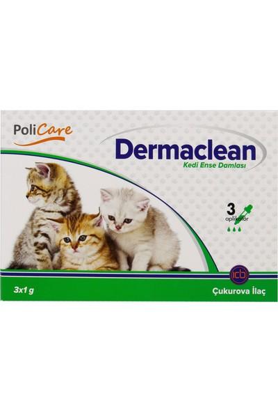Dermaclean Bit Pire Kene İçin Kedi Ense Damlası (3x1 gr)