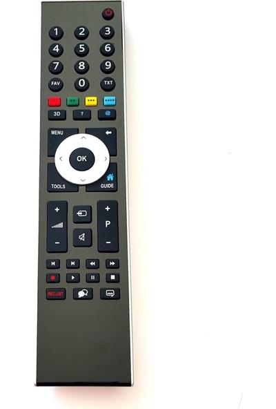 Electroon Arçelik A55LER6B Uyumlu 3D LED TV Kumanda