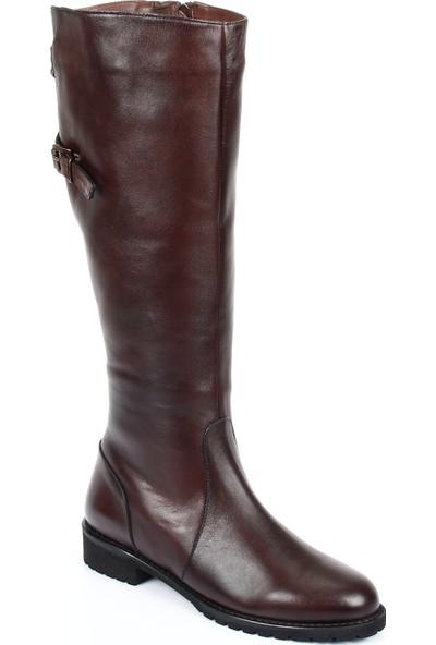Gön Deri Kadın Çizme 77541