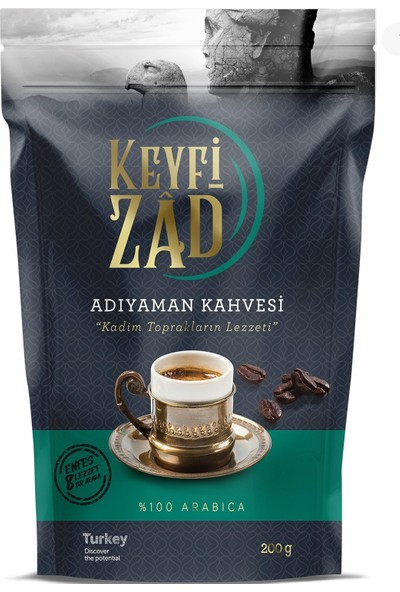 Keyfizad Adıyaman Kervansaray Kahvesi 200 gr