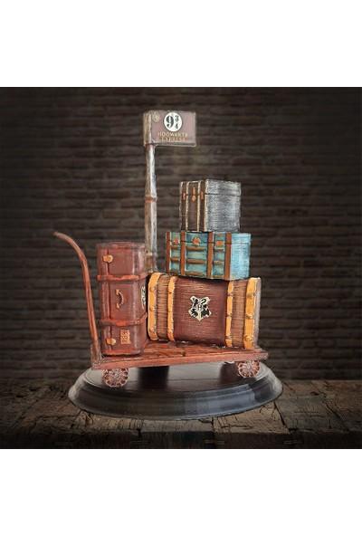 Büyücü Sokağı Platform 9¾ Valiz Seti Harry Potter Hogwarts