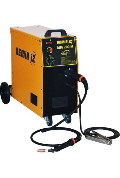 Demiriz Mig 200 M Gazaltı Kaynak Makinası Monofaze 220V