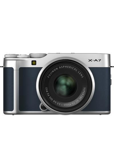 Fujifilm X-A7 Koyu Mavi + XC 15-45 mm Lens Kit