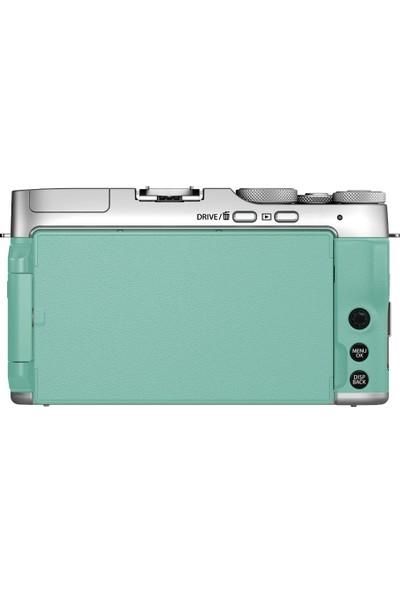 Fujifilm X-A7 Nane Yeşili + XC 15-45 mm Lens Kit