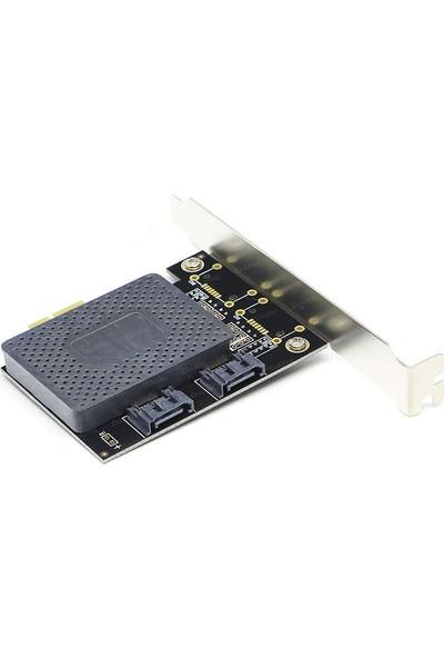 Dark 2 x SATA III Destekli PCI-E X1 Kart (DK-AC-PES2)