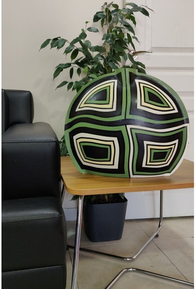 Senso Vase Stone D40 Vasarely Brown Vazo