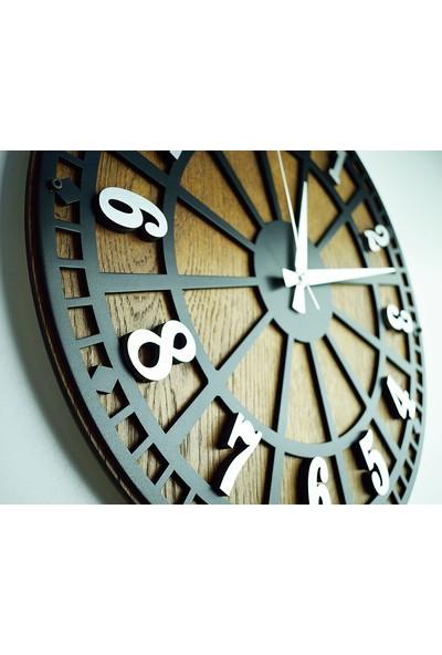 Kayra Tasarım Atölyesi Saat Masif Rustik Latin 70cm