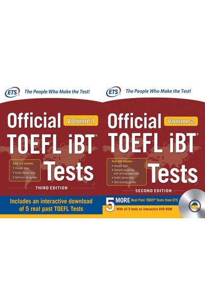 Educational Testing Service Official Toefl Ibt Tests Volume 1+2 Set (2 Kitap)