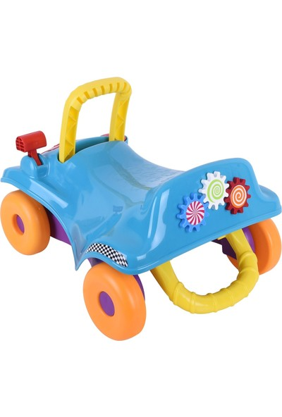 Baby Toys İlk Arabam İlk Adım 2'si Bir Arada Yürüme Yardımcısı