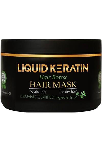 Liquid Keratin Yıpranmış Saçlara Bakım Onarıcı KeratinsetiSerum ve Maske