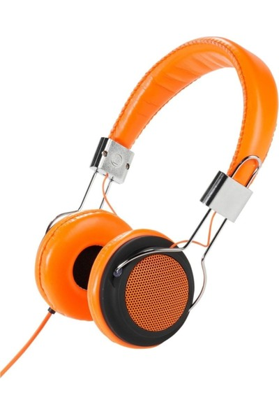 Vivanco 34882 Street Style X-Bass Kulaküstü Turuncu Kulaklık