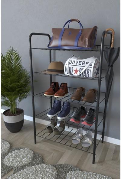 Daylight 5 Raflı Ayakkabılık Metal Ayakkabılık Çok Amaçlı Dolap