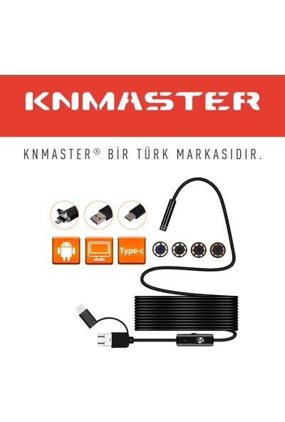 Knmaster Pro Serisi Endoskop Boroskop Yılan Kamera