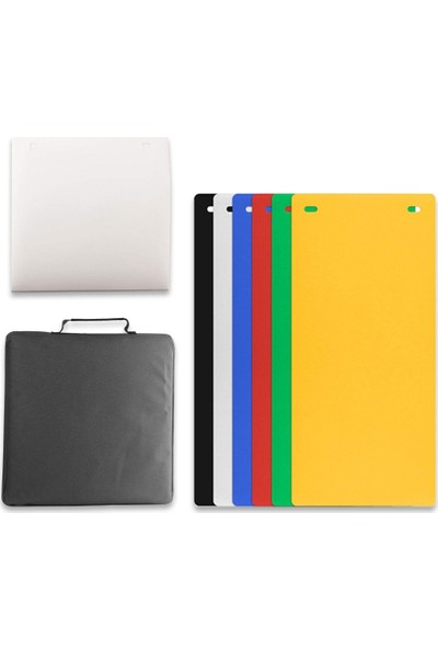 Best Çekim Çadırı LED USB 40 x 40 x 40 cm 6 Fonlu ( Siyah-Beyaz-Kırmızı-Yeşil-Sarı-Mavi )