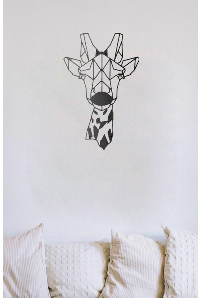 Monge Dizayn Zürafa Metal Tablo