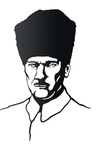 Monge Dizayn Atatürk Metal Tablo