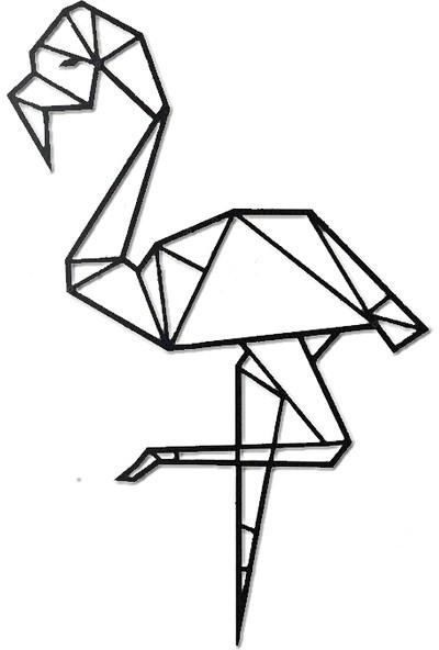 Monge Dizayn Flamingo Metal Tablo