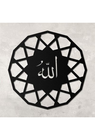 Monge Dizayn Monge Allah Yazılı Metal Tablo
