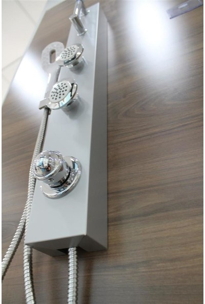 Sam Elmas Masajlı Duş Sistemi masajlı Robot tepe Duş Paneli