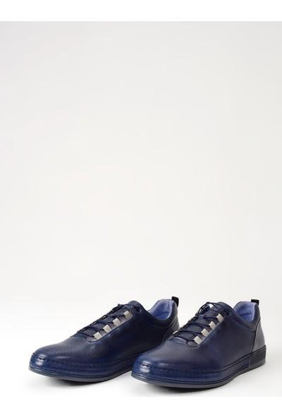 Uniquer Erkek Deri Sneaker 9316 1920 Lacivert