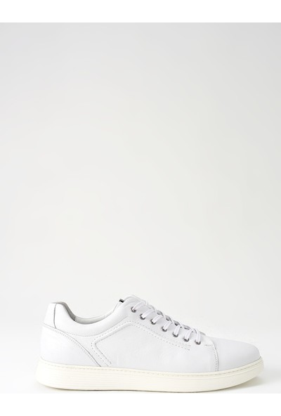 Ziya Erkek Deri Ayakkabı 101109 4468 Beyaz