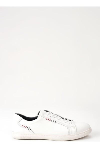 Ziya Erkek Deri Ayakkabı 101165 727 Beyaz