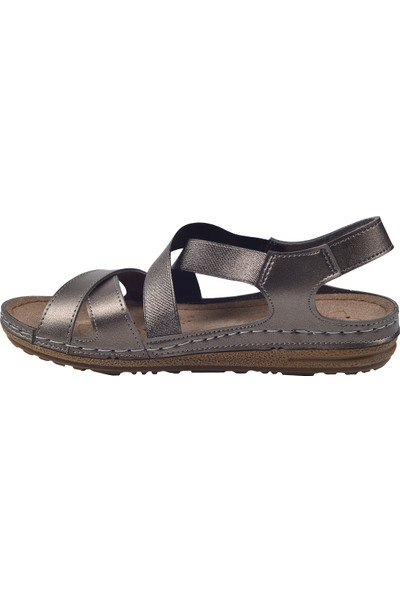 Jump 25133 Günlük Kadın Sandalet Terlik Siyah