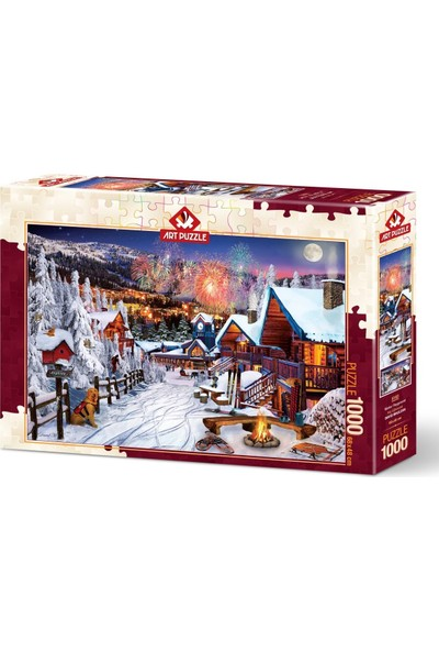 Art Puzzle Kış Eğlencesi 1000 Parça Puzzle