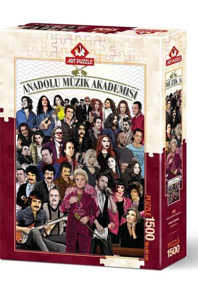 Art Puzzle Anadolu Müzik Akademisi 1500 Parça Puzzle