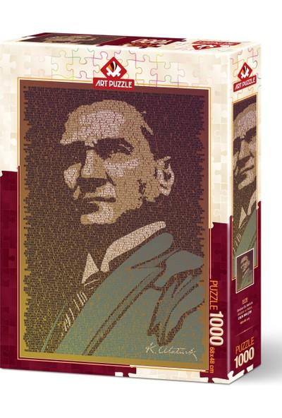 Art Puzzle Atatürk ve Nutuk 1000 Parça Puzzle
