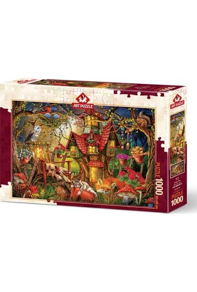 Art Puzzle Miskinlik Vakti 1000 Parça Puzzle