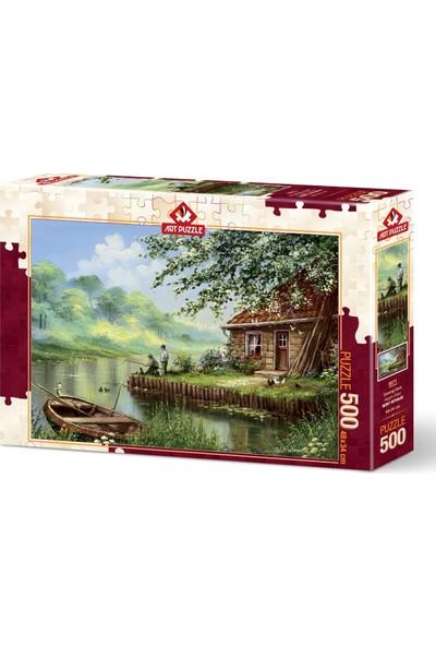 Art Puzzle Akşam Oltası 500 Parça Puzzle