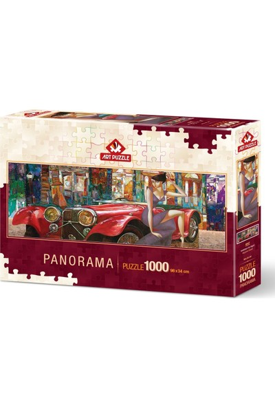 Art Puzzle Akşama Davet 1000 Parça Panorama Puzzle