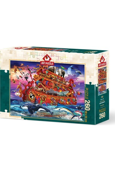 Art Puzzle Nuh'un Gemisi 260 Parça Puzzle