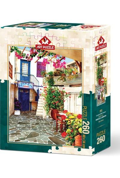 Art Puzzle Çiçekli Avlu 260 Parça Puzzle