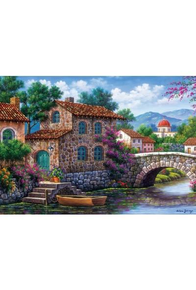 Art Puzzle Çiçekli Kanal 500 Parça Puzzle