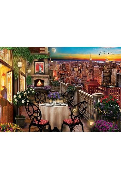 Art Puzzle New York'ta Akşam Yemeği 1000 Parça Puz