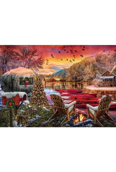 Art Puzzle Karavan Kampı 2000 Parça Puzzle