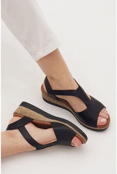 Marjin Kadın Alis Dolgu Sandalet