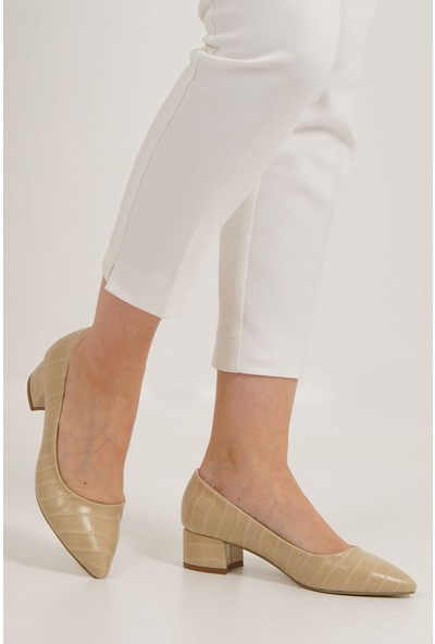 Marjin Kadın Apunte Topuklu Ayakkabı