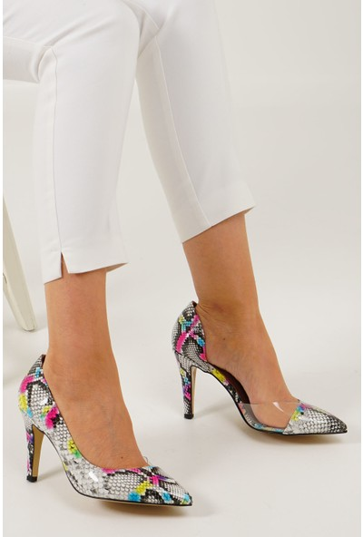 Marjin Kadın İnvez Topuklu Ayakkabı